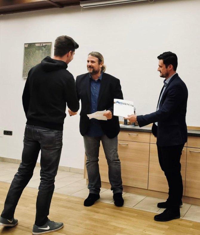 Preisverleihung Nachwuchswettbewerb